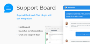 Download free Support Board – Chat And Help Desk v3.0.8