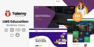 Download free Talemy v1.2.1 – LMS Education WordPress Theme