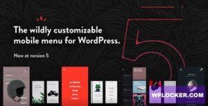 Download free TapTap v5.2 – A Super Customizable WordPress Mobile Menu