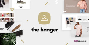 Download free The Hanger v1.6.4 – Modern Classic WooCommerce Theme