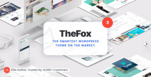 Download free TheFox v3.9.9.8.16 – Responsive Multi-Purpose WordPress Theme