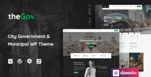 Download free TheGov v1.0.13 – Municipal and Government WordPress Theme