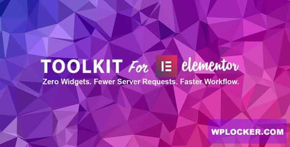 Download free ToolKit For Elementor v1.0.4