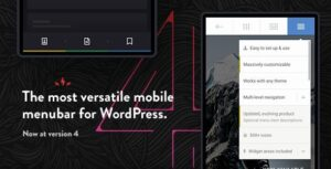 Download free Touchy v4.1 – WordPress Mobile Menu Plugin