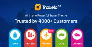 Download free Travelo v4.2.1 – Travel/Tour Booking WordPress Theme