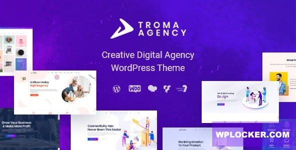 Download free Troma v1.1.8 – Digital Agency WordPress