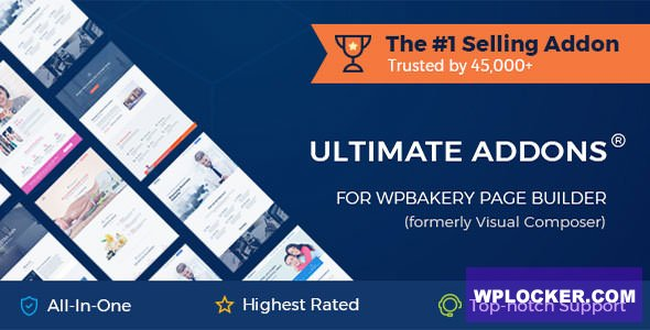 Download free Ultimate Addons for WPBakery Page Builder v3.19.6