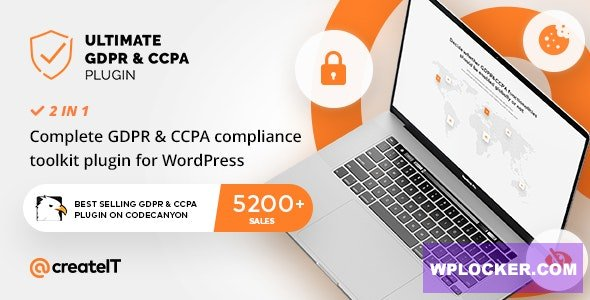 Download free Ultimate GDPR v2.1 – Compliance Toolkit for WordPress