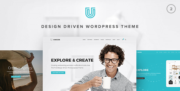 Download free Unicon v2.7.4 – Design-Driven Multipurpose Theme