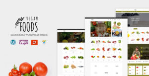 Download free Vegan Food v5.2.18 – Organic Store, Farm Responsive Theme