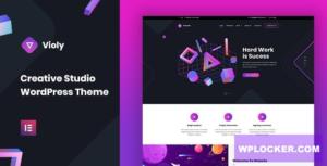 Download free Violy v1.0.0 – Creative Studio WordPress Theme