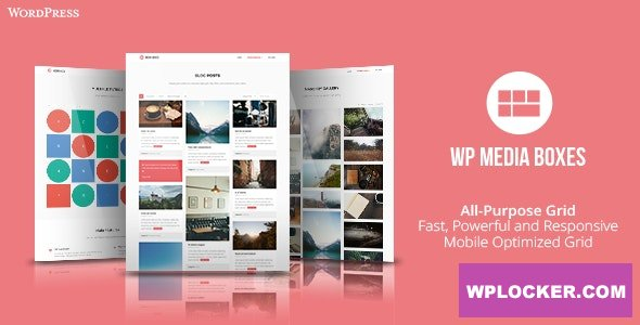 Download free WP Media Boxes Portfolio v1.4.4