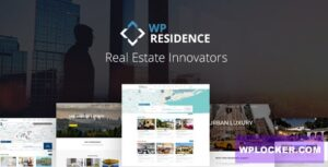 Download free WP Residence v3.3.2 – Real Estate WordPress Theme