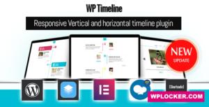 Download free WP Timeline v3.5.1 – Responsive timeline plugin