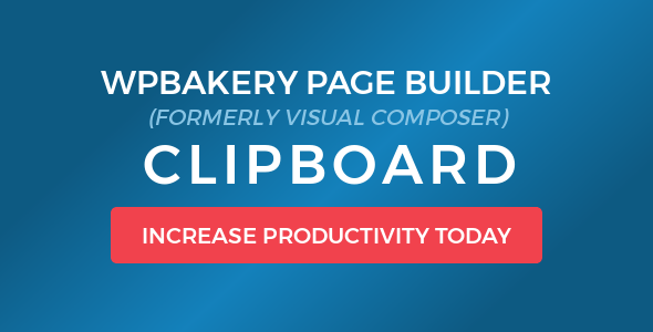 Download free WPBakery Page Builder (Visual Composer) Clipboard v4.5.6