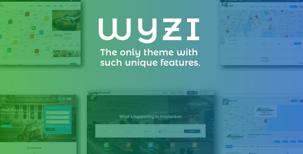 Download free WYZI v2.4.2 – Social Business Finder Directory Theme