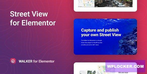 Download free Walker v1.0.1 – Google Street View for Elementor