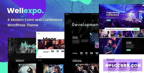 Download free WellExpo v1.4 – Event & Conference Theme