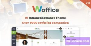 Download free Woffice v2.9.3 – Intranet/Extranet WordPress Theme