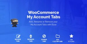 Download free WooCommerce Custom My Account Pages v1.0.8