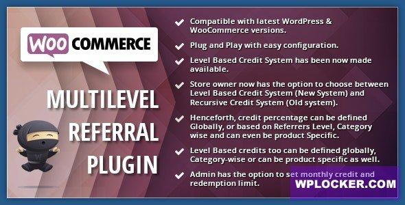 Download free WooCommerce Multilevel Referral Affiliate Plugin v2.1.5