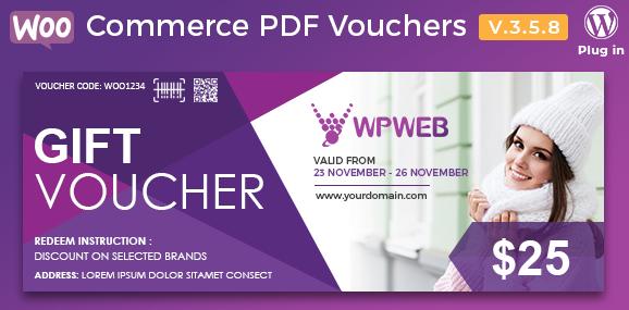 Download free WooCommerce PDF Vouchers v4.1.11 – WordPress Plugin