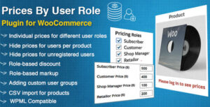 Download free WooCommerce Prices By User Role v4.5