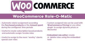 Download free WooCommerce Role-O-Matic v8.0
