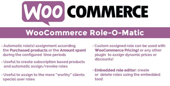 Download free WooCommerce Role-O-Matic v8.0