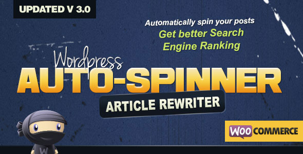 Download free WordPress Auto Spinner v3.7.4 – Articles Rewriter