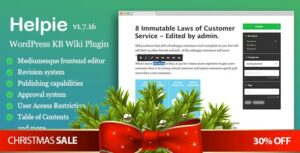 Download free WordPress Knowledge Base Plugin v1.9.5