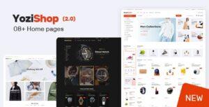 Download free Yozi v2.0.29 – Multipurpose Electronics WooCommerce Theme