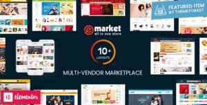 Download free eMarket v2.7.0 – Multi Vendor MarketPlace WordPress Theme
