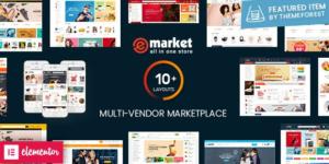 Download free eMarket v2.9.0 – Multi Vendor MarketPlace WordPress Theme
