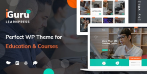 Download free iGuru v1.0.11 – Education & Courses WordPress Theme