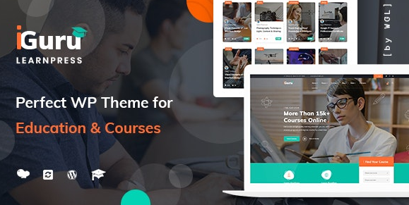 Download free iGuru v1.0.11 – Education & Courses WordPress Theme