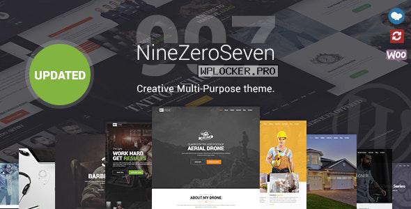 907 v4.6.7 – Responsive Multi-Purpose Theme