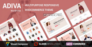 Adiva v2.6 – eCommerce WordPress Theme