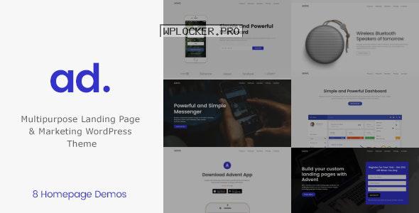 Advent v1.3.5 – Digital Marketing WordPress Theme