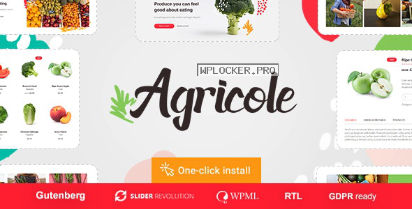 Agricole v1.0.4 – Organic Food & Agriculture WordPress Theme