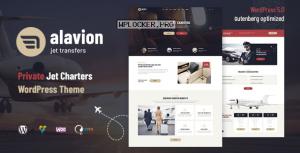 Alavion v1.1.3 – Private Jet Charters WordPress Theme