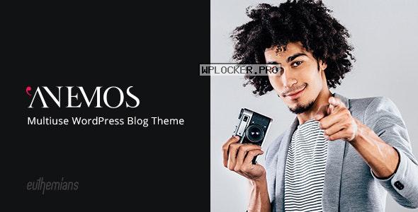 Anemos v2.2.3 – A Multiuse Blogging WordPress Theme