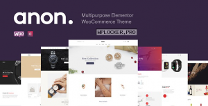 Anon v1.7.0 – Multipurpose Elementor WooCommerce Theme