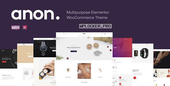 Anon v1.7.0 – Multipurpose Elementor WooCommerce Theme