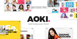 Aoki v1.6 – Creative Design Agency Theme