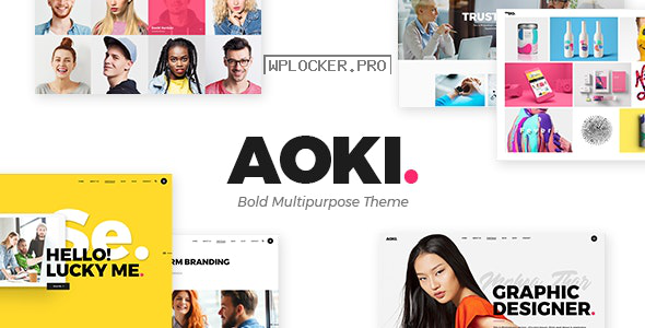 Aoki v1.6 – Creative Design Agency Theme