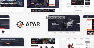 Apar v1.0.1 – Auto Parts WordPress Shop Theme