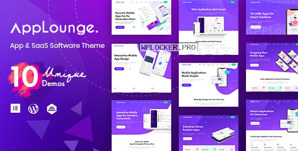 AppLounge v1.1.1 – Multipurpose SaaS WordPress Theme