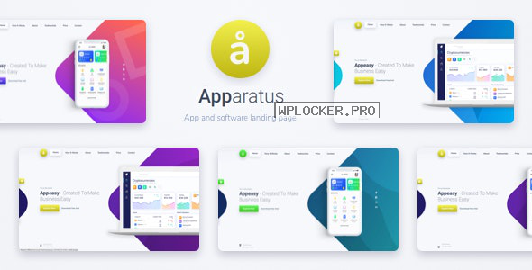Apparatus v3.6.2 – A Multi-Purpose One-Page Landing Theme