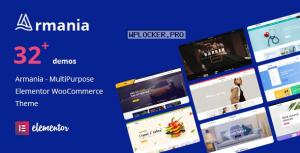 Armania v1.1.4 – Multipurpose Elementor WooCommerce Theme (RTL Supported)